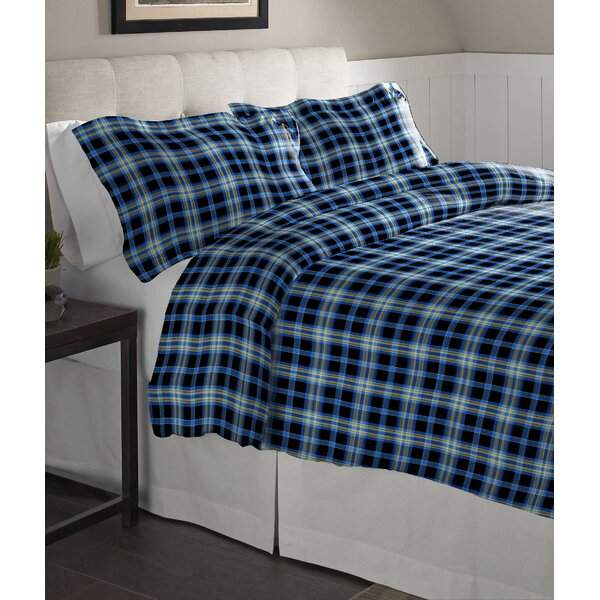 Ashby 100% Cotton Flannel Sheet Set By Pointehaven.